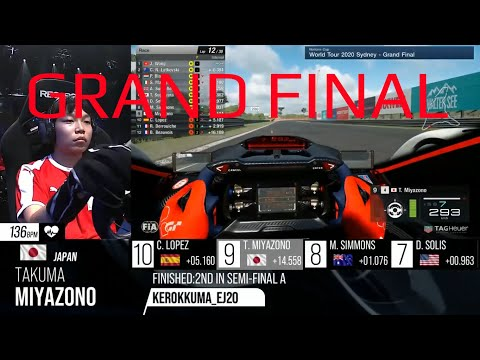 World Tour 2020 Grand Final SIDNEY GRAN TURISMO SPORT I Nations Cup