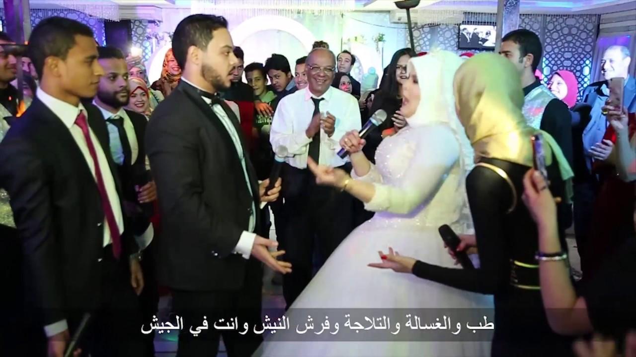 56a25ea7647a1 دخول عروسة بالموتوسيكل في قاعة فرحها والبنزين خلص فرح باسم ورغدة ...