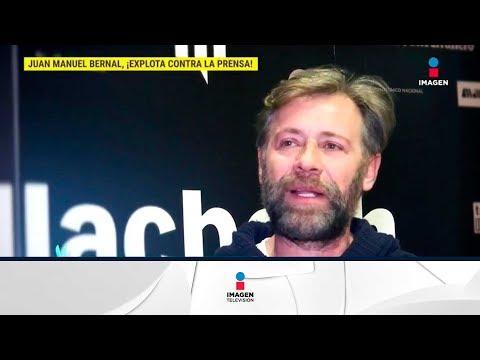 ¡Juan Manuel Bernal explota contra los medios!   De Primera Mano