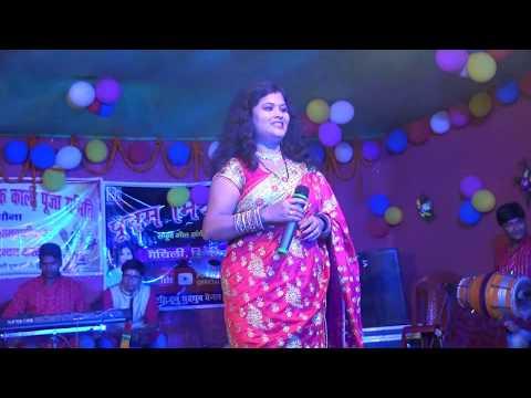 !!झुमका बंगाल के!!POONAM MISHRA LIVE HD VIDEO!!(मैथिली लोकगीत)
