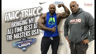 MAC TRUCC-I AM BRINGING MY BEST EVER TO THE MASTERS USA!