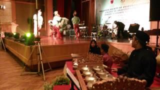 tarian kuda kepang with Live Music at EQ Hotel
