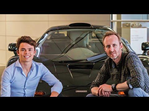 Nyck de Vries neemt me mee naar McLaren in Engeland! (English subtitles)
