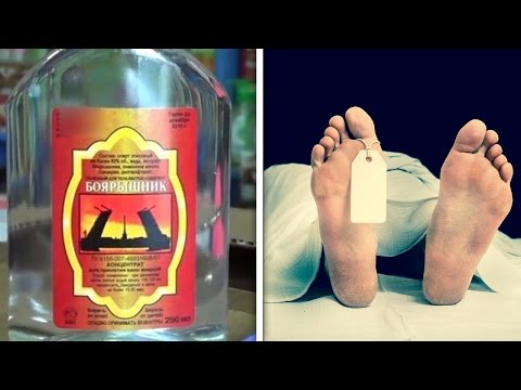 Russians Drinking Themselves To Death