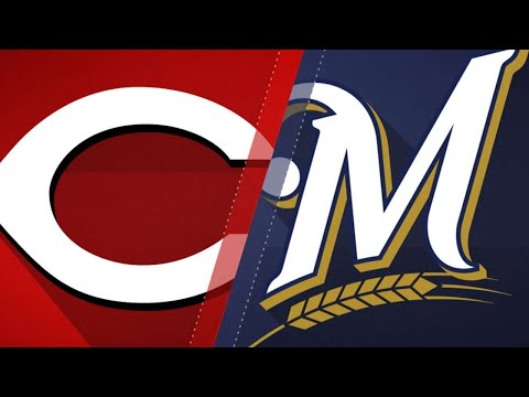 Guerra, Thames lead Brewers past Reds, 2-0 - 4/17/18