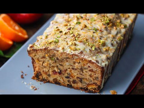 How To Make The Tastiest Fruitcake • Tasty
