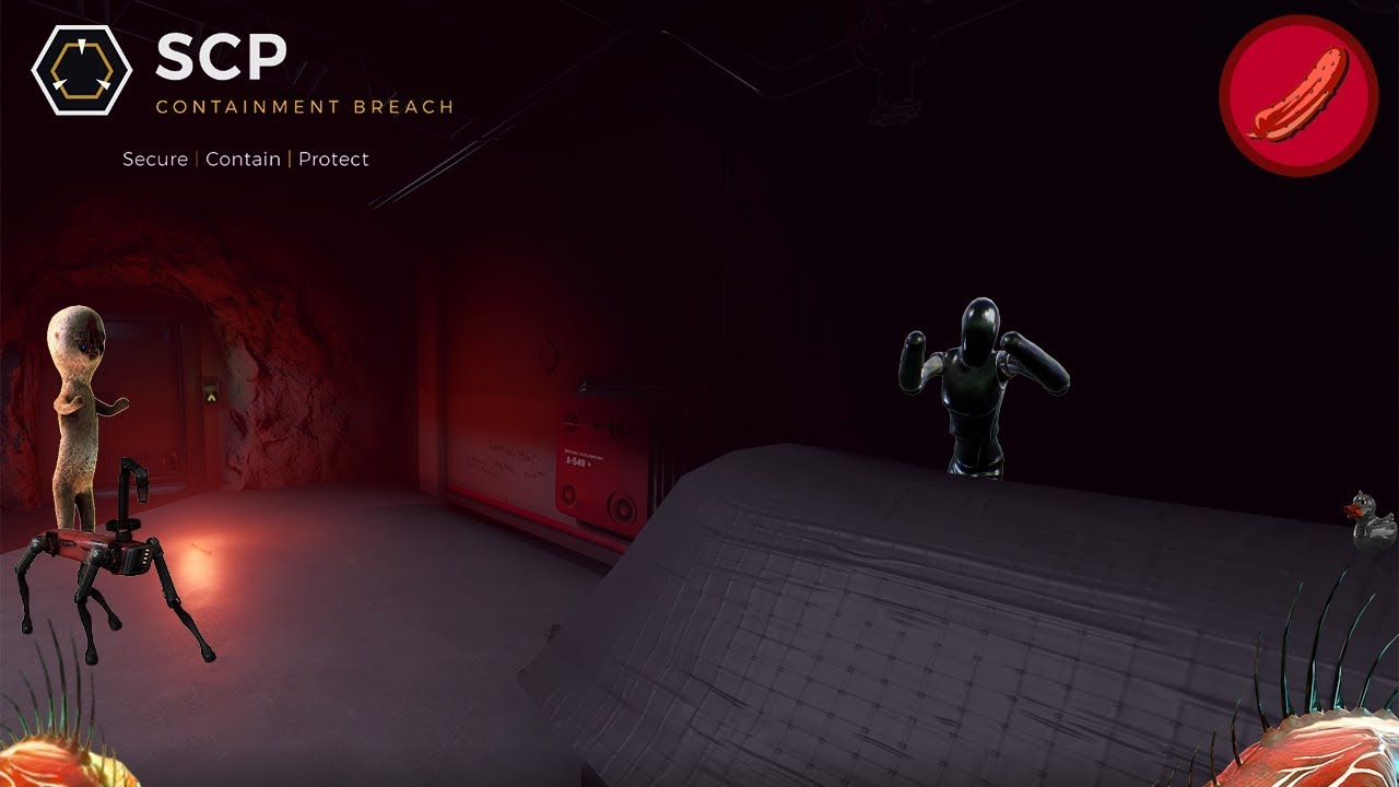 Something's in the vents    0 6 5 UPDATE!!!    SCP: Containment Breach Unity