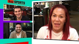 UFC's Cris Cyborg Says She's Open to 'Dancing with the Stars' | TMZ Sports