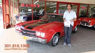 1970 Chevrolet Chevelle SS454 for sale with test drive, driving sounds, and walk through video