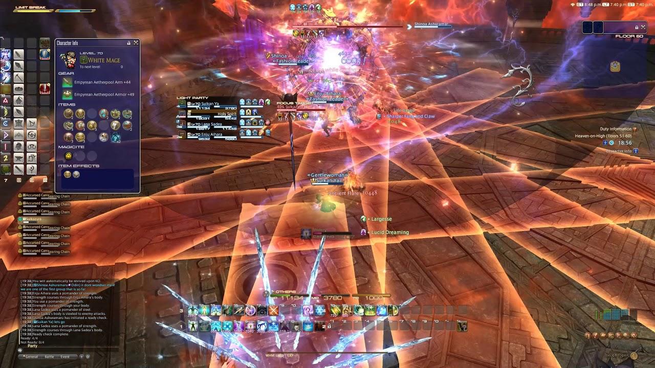 Heaven On High Hoh Floor 60 Boss Battle Youtube