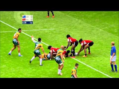 Rowell Gordon Rugby highlights/CV 2014/15