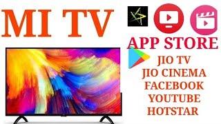 JIO TV & APP STORE INSTALLATION IN MI LED TV #HGT 45