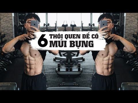 6 Thói quen cho 6 múi   Tập sao để múi đẹp, eo thon   SHINPHAMM