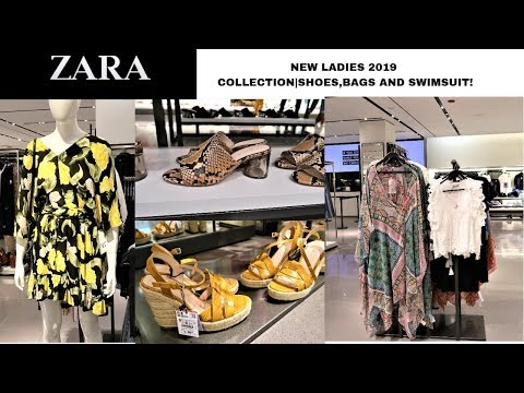 ZARA NEW LADIES 2019 SPRING/SUMMER COLLECTION |SHOES/BAGS/SWIMSUITS