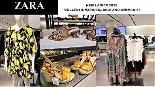 ZARA NEW LADIES 2019 SPRING/SUMMER COLLECTION  SHOES/BAGS/SWIMSUITS
