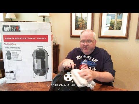 Don't Season Your New Weber Smokey Mountain Cooker - TVWB - virtualweberbullet.com