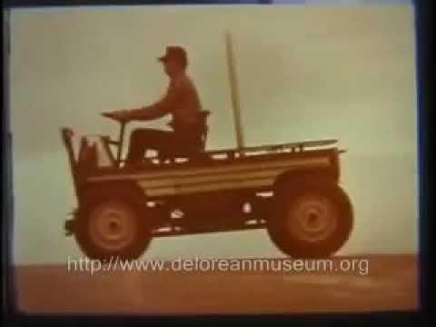 Delorean Dmc 44 Small Off Road Project Car Design Archives