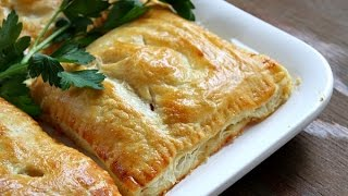 Turkey And Vegetable Puffs (puff Pastry Pies) - Recipe