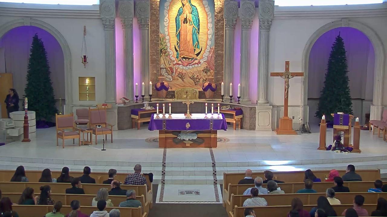 Sunday 12/18/2016 - 1pm Spanish Mass - St  Anne Roman Catholic Parish
