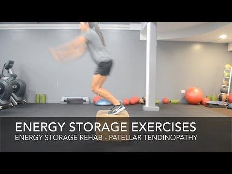 Patellar Tendinopathy Rehab -  Energy Storage Exercises