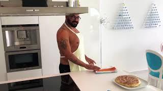 Azis baked Turkish burek