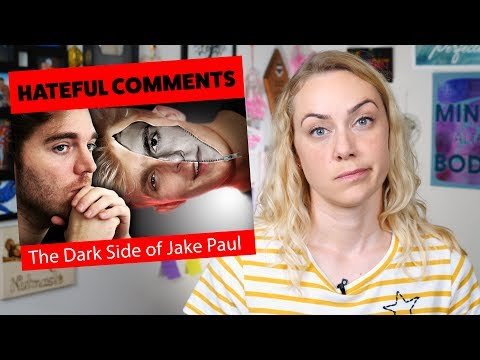 Hateful Comments from The Dark Side of Jake Paul