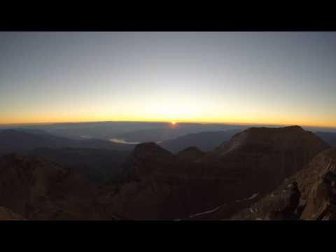 Mount Timpanogos Sunrise Timelapse
