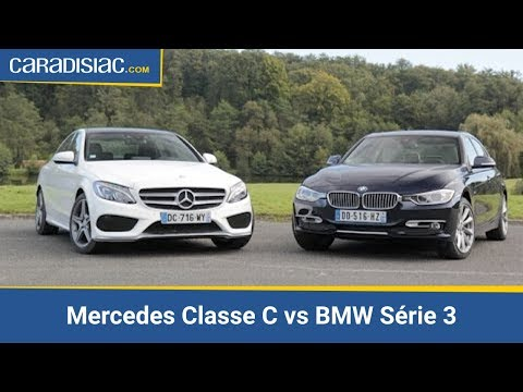 comparatif merces classe c vs bmw s rie 3 youtube. Black Bedroom Furniture Sets. Home Design Ideas