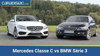 Comparatif Mercedes Classe C vs BMW Série 3