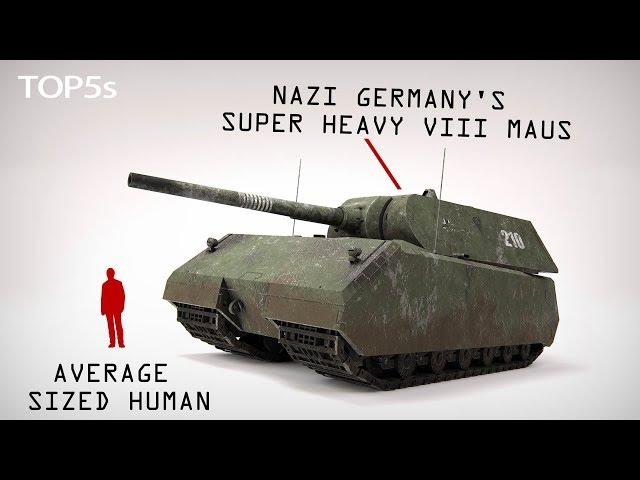 5 Biggest & Scariest Tanks Ever Built