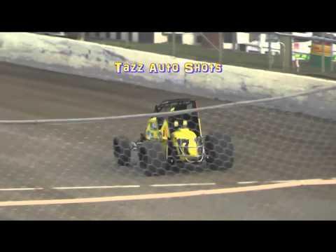 Wingless Sprints Heat 1 Latrobe Speedway 19/3/16
