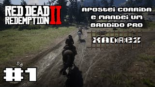 Red Dead Redemption 2 #1   Apostei Corrida de Cavalo e Cacei um Foragido