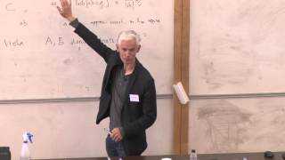 Professor Timothy Gowers speaking at the LMS/EMS Anniversary Mathematical Weekend 2015 thumbnail