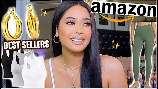 AMAZON MUST HAVES EVERY GIRL NEEDS 💗✨AMAZON FITNESS, CLOTHES + GOLD JEWELRY | YOU NEED THIS !