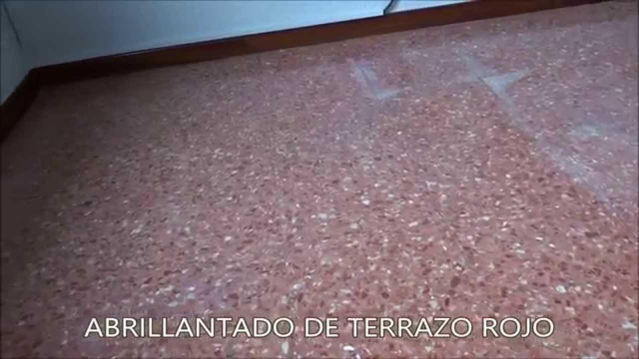 Cmo recuperar el brillo de un suelo de terrazo  YouTube