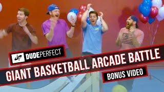 Dude Perfect Giant Basketball Arcade Battle BONUS
