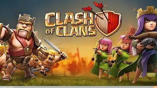 playing clash of clans (again)