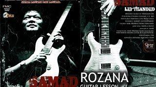 05 SENTUHAN TERAKHIR SAMAD VOL1   Rozana (Search) - Guitar Lesson Mp3