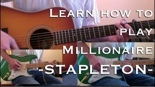 Chris Stapleton Millionaire Chords Lesson and Tutorial Video