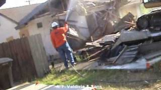 A. F. Valdivia & Sons Demolition on House (15 minutes)