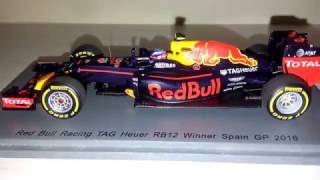 Max Verstappen - Red Bull Tag Heuer RB12 - F1 Spark 1/43 diecast 2016