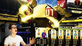 FIFA 17: OMG 4x WALKOUT INFORM! 34 INFORMS IN PACK OPENING! 🔥⛔️ - TOP 100 FUT CHAMPIONS REWARDS!