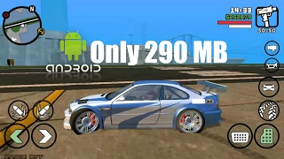 How To GTA SA Only 290 MB Download & Install On Your Android Or IOS Device For Free