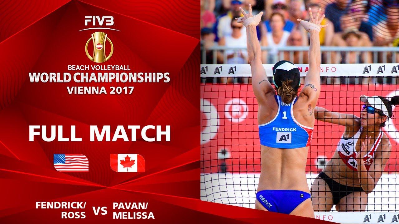 Fendrick/Ross vs. Pavan/Humana Paredes - Semifinal | Beach Volleyball World Champs Vienna 2017