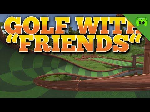 DEN BALL IM SAND VERSTECKEN 🎮 Golf With Friends #4