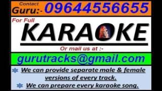 Akash Dake aaj amay Indranil Sen Bengali customized Full karaoke track