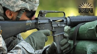 5 56mm M16 Assault Rifle US Armed Forces Review