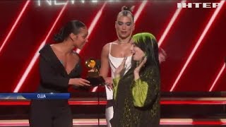 Тріумф на Grammy: Біллі Айлиш перемогла у всіх основних номінаціях
