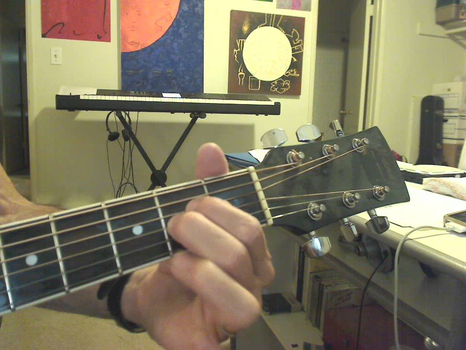 Guitar 1 Lesson 7: A4 / A sus chord tutorial - YouTube