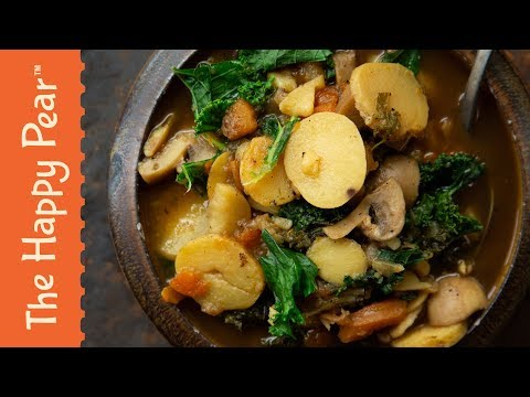 €1 VEGAN WINTER STEW | THE HAPPY PEAR